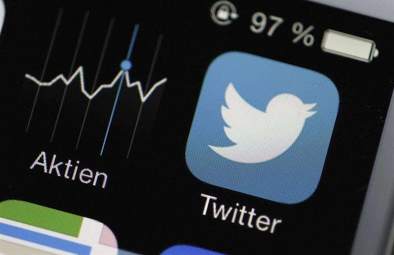 Por primera vez, Twitter desgranó su número de usuarios diarios: 126 millones en el cuarto trimestre de 2018. EFE/Archivo