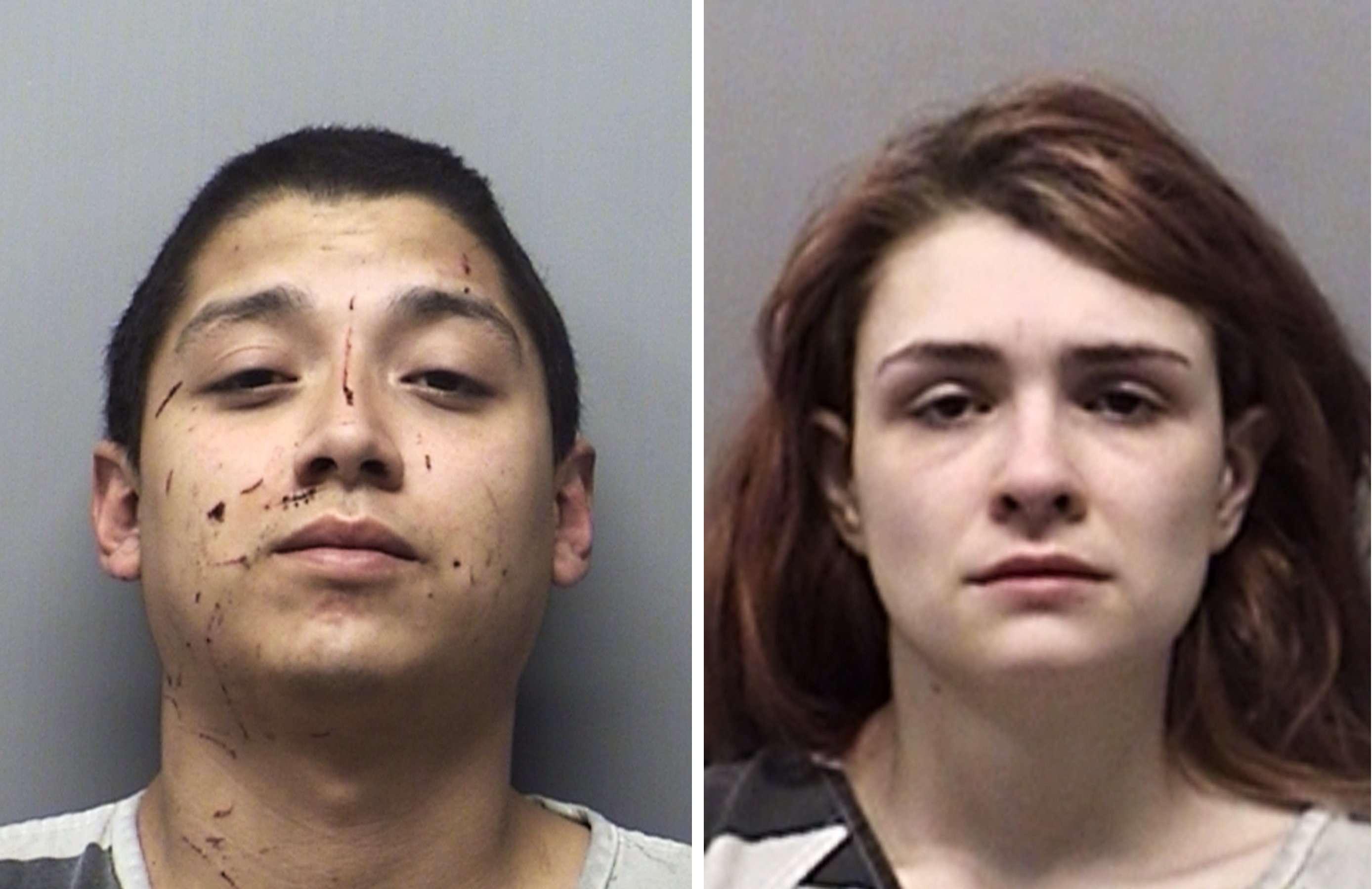 En la imagen Andrew Joseph Fabila y Paige Isabow Harkings, ambos de 24 años.  AP