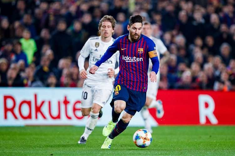 El Barcelona se acogerá al gran momento de Messi y a su monopolio en la Copa del Rey -cuatro títulos consecutivos. foto: Twitter