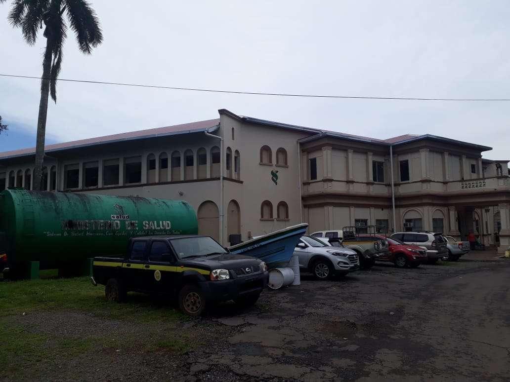 Instalaciones del Ministerio de Salud en  Chiriquí. Foto: José Vásquez