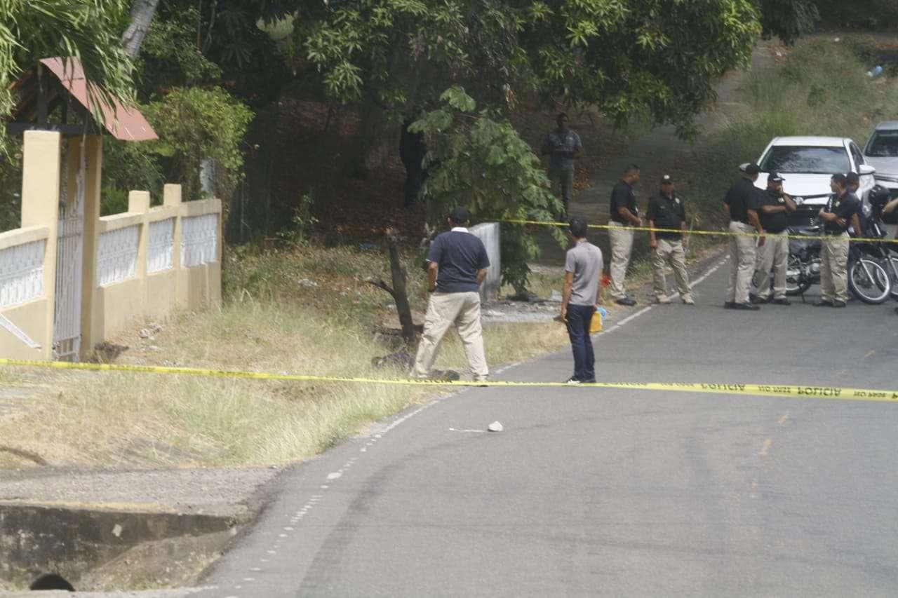 Vista general de la escena del crimen. Foto: Edwards Santos