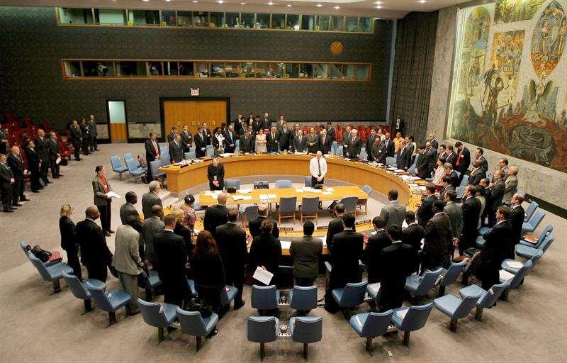 Vista general de una sesión del Consejo de Seguridad de la ONU. EFEArchivo
