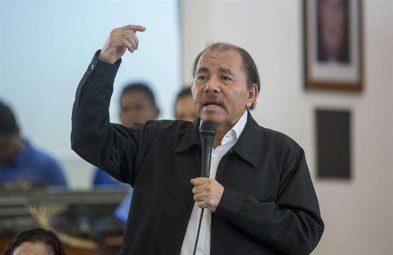 El presidente de Nicaragua, Daniel Ortega. EFEArchivo