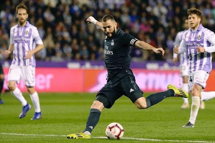 Benzema anotó dos goles en el triunfo del Real Madrid. Foto: AP