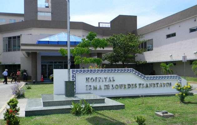 Vista externa de las instalaciones del hospital Irma Lourdes Tzanetatos de Tocumen. Foto: Archivo