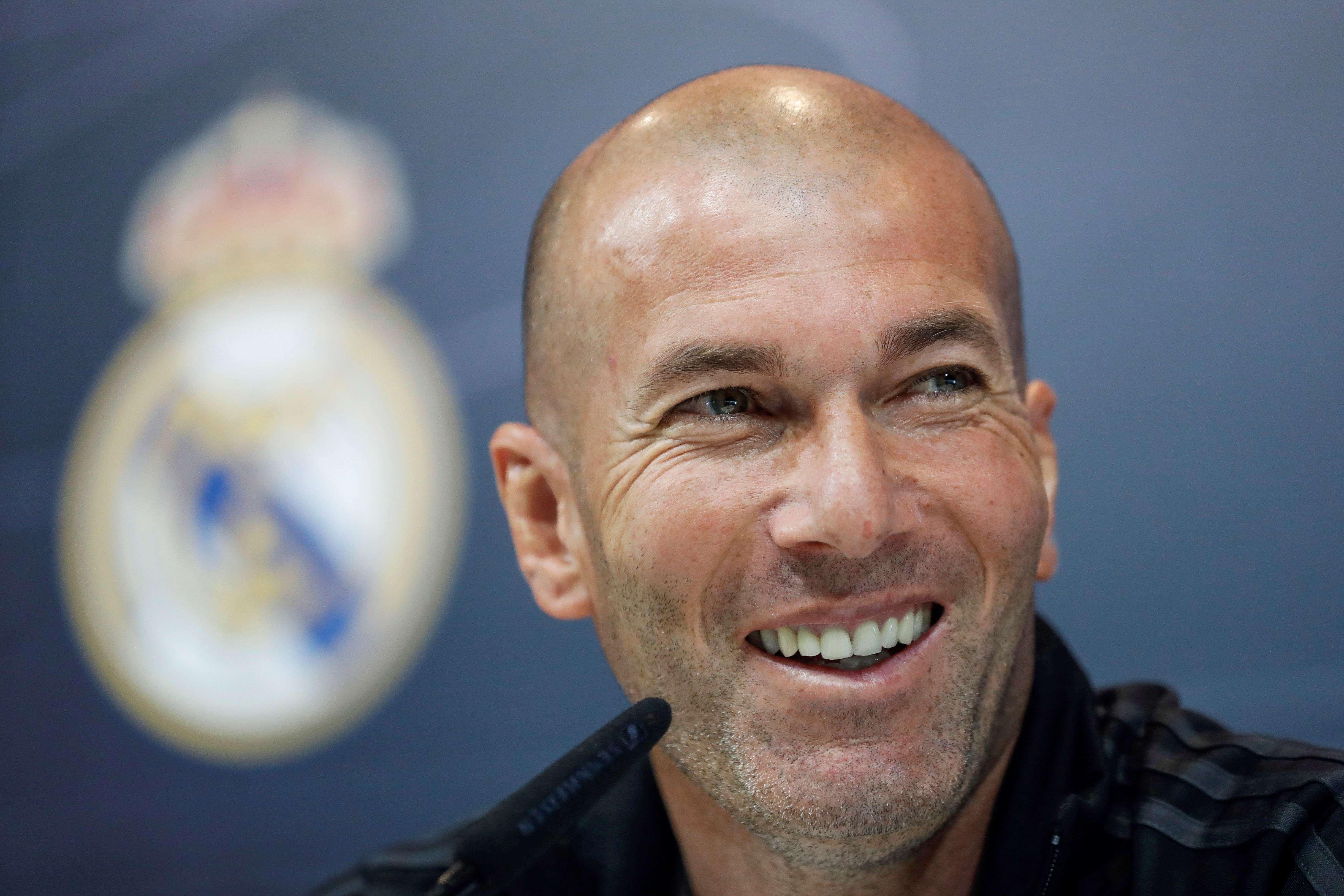 Zinedine Zidane tomará las riendas del conjunto blanco. / EFE