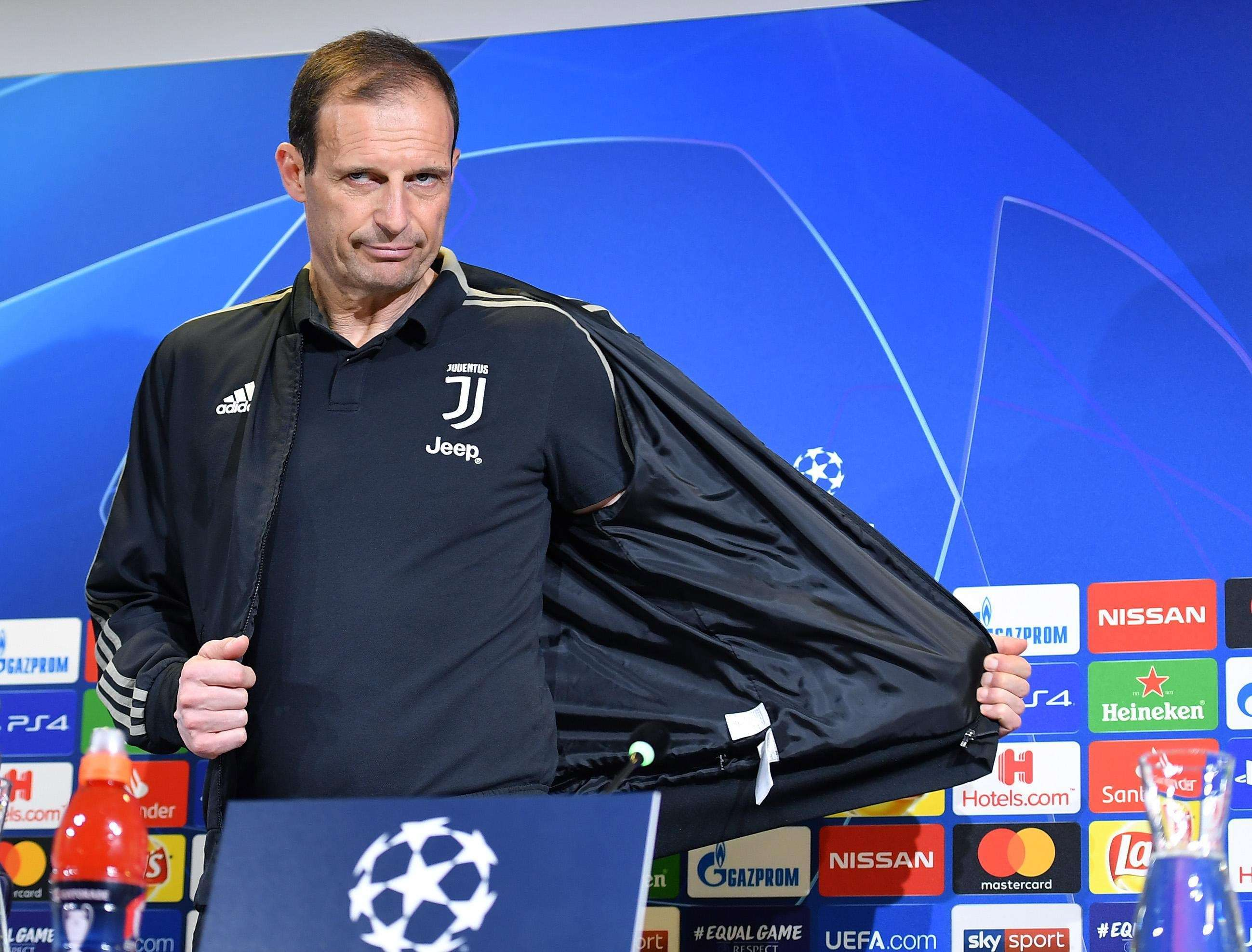 Massimiliano Allegri, técnico de la Juventus. / EFE