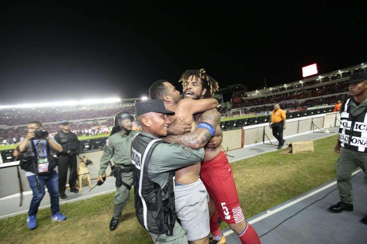 Román Torres anotó el gol con que Panamá se clasificó al Mundial Rusia 2018. / Ana Gamez