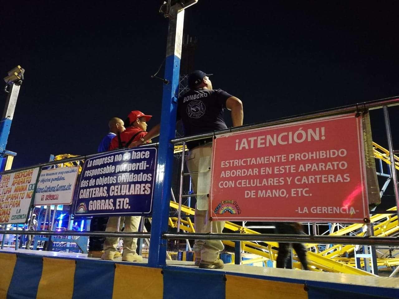 Personal del Cuerpo de Bomberos revisó el aparato luego de reparado. Foto: Mayra Madrid