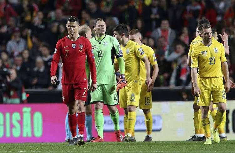 Cristiano apareció en la primera mitad con dos ocasiones. Foto: AP