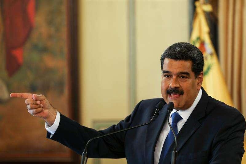 El presidente de Venezuela, Nicolás Maduro. EFEArchivo