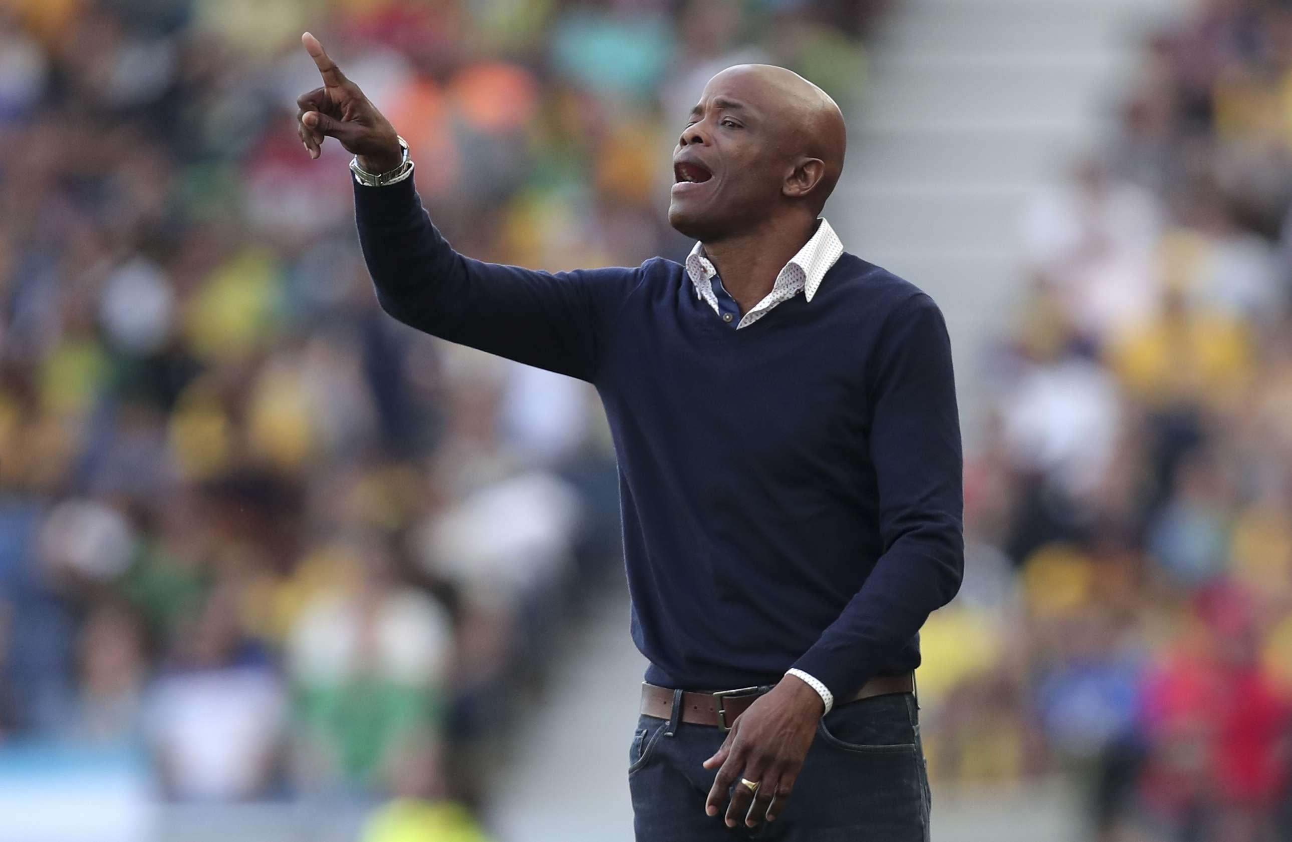 Julio Dely, técnico de la selección nacional. /EFE