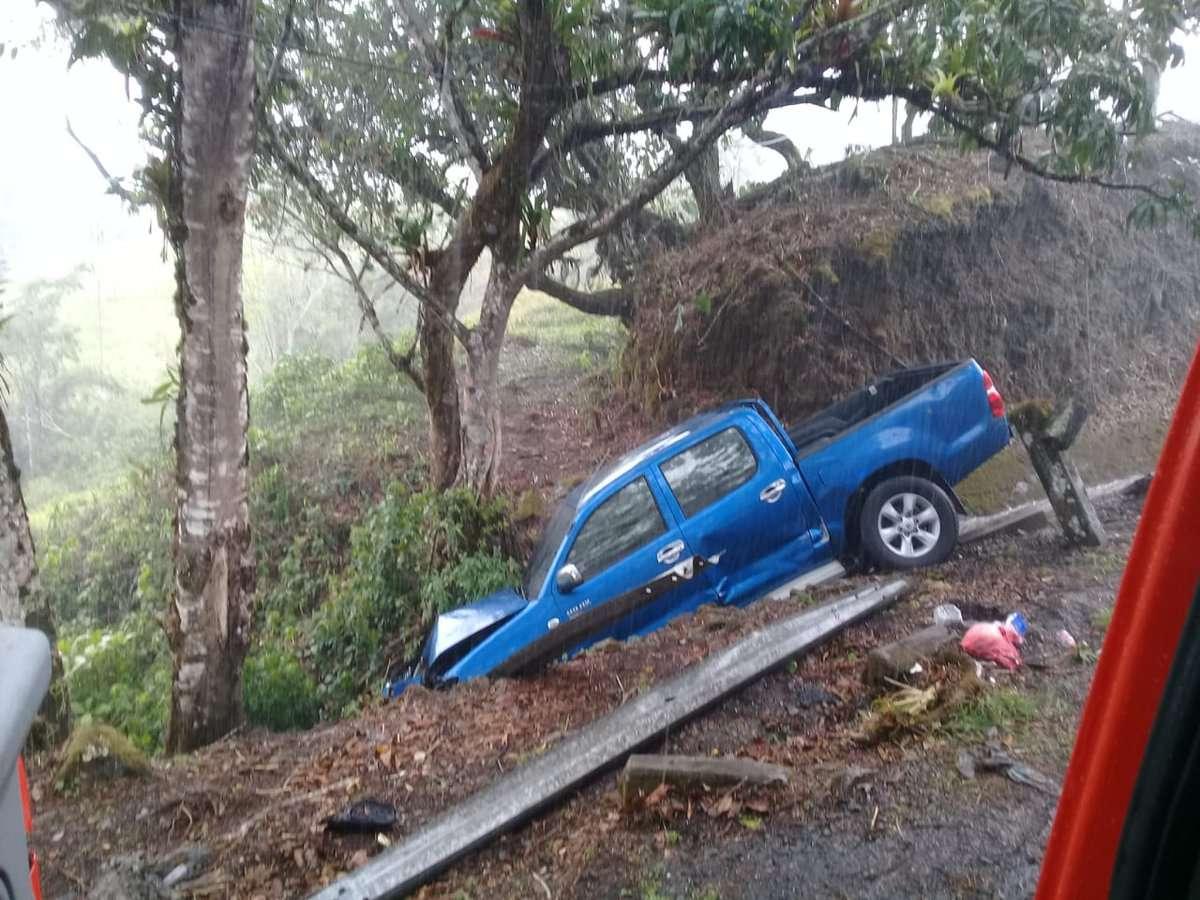 Accidente de tránsito en Chiriquí.
