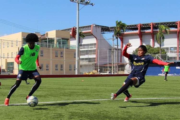 La selección femenina se prepara para la cita regional de los Juegos Panamericanos. Foto: Fepafut