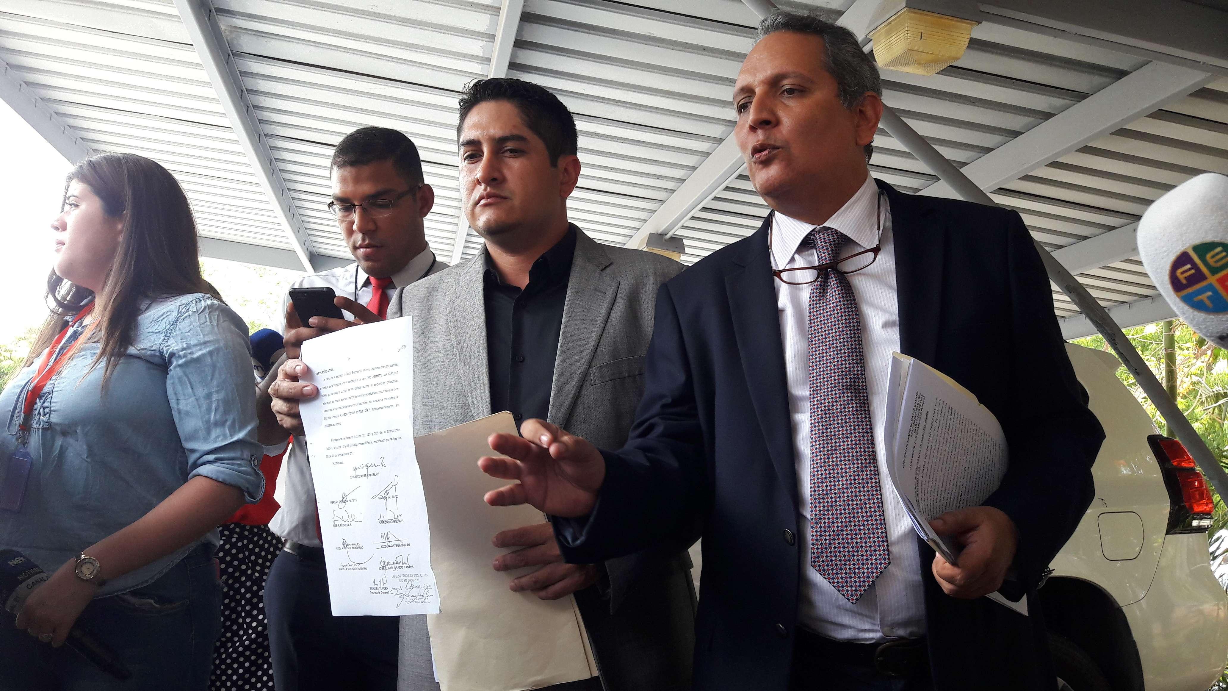 El diputado aseguró que dentro de las investigaciones podrían aumentar la cuantía de la demanda. Foto: Jean Carlos Díaz