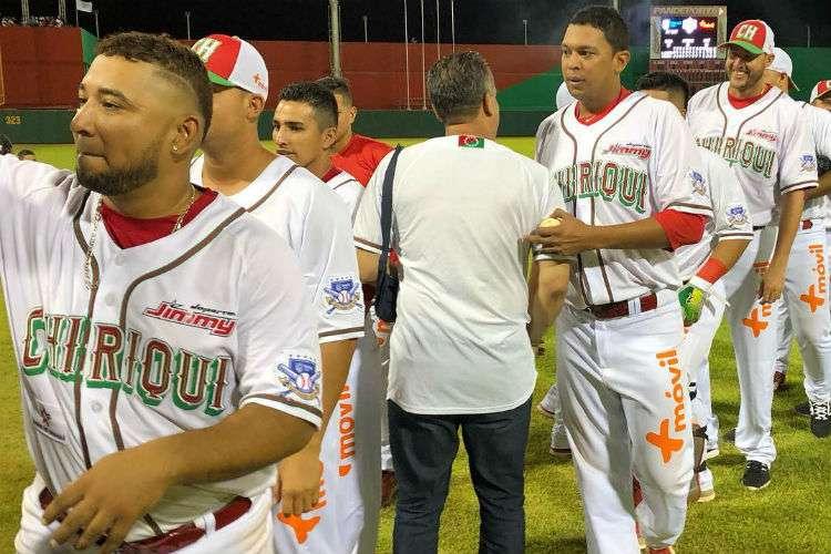 La novena de Chiriquí enfrentará en la final a Panamá Metro a partir de este sábado. Foto: Fedebeis
