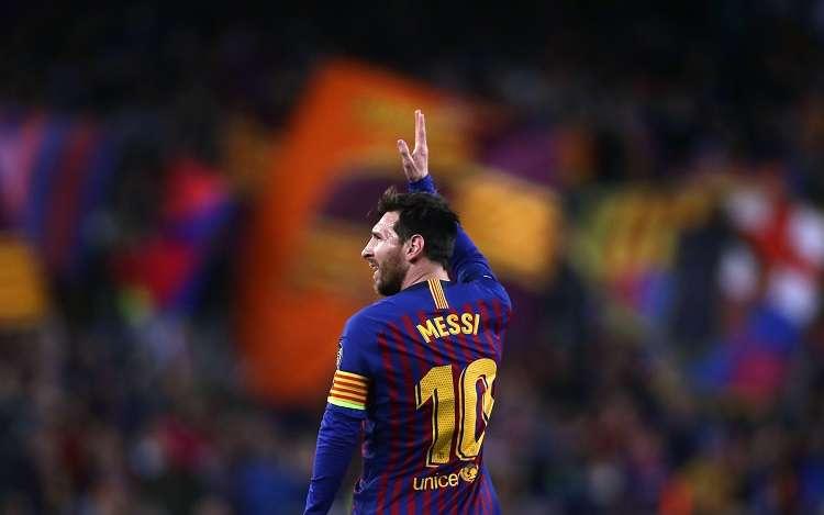 Lionel Messi, jugador del FC Barcelona. Foto: AP