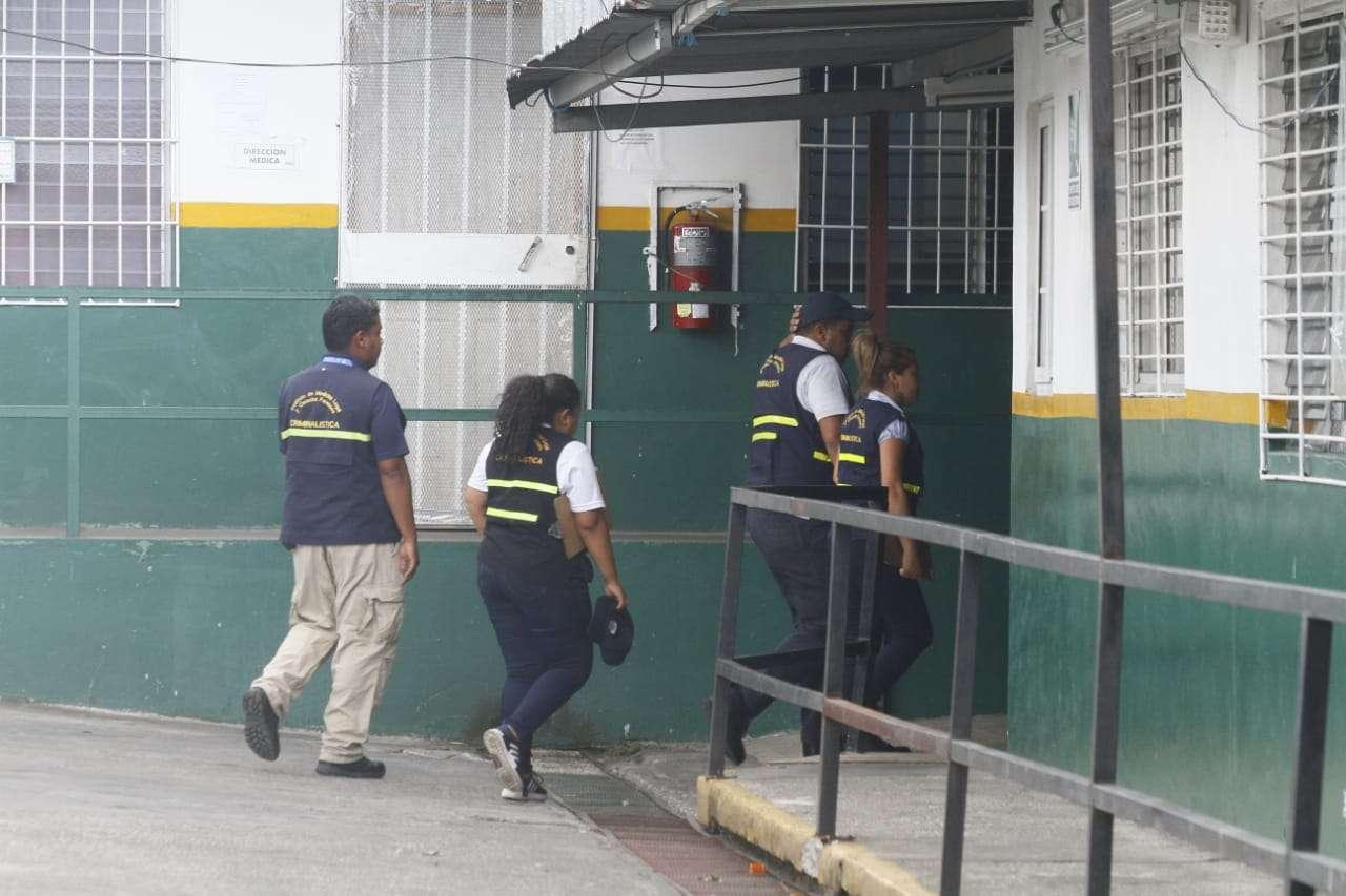 El niño fue trasladado al centro médico de Torrijos Carter, donde murió.  Foto: Edwards Santos