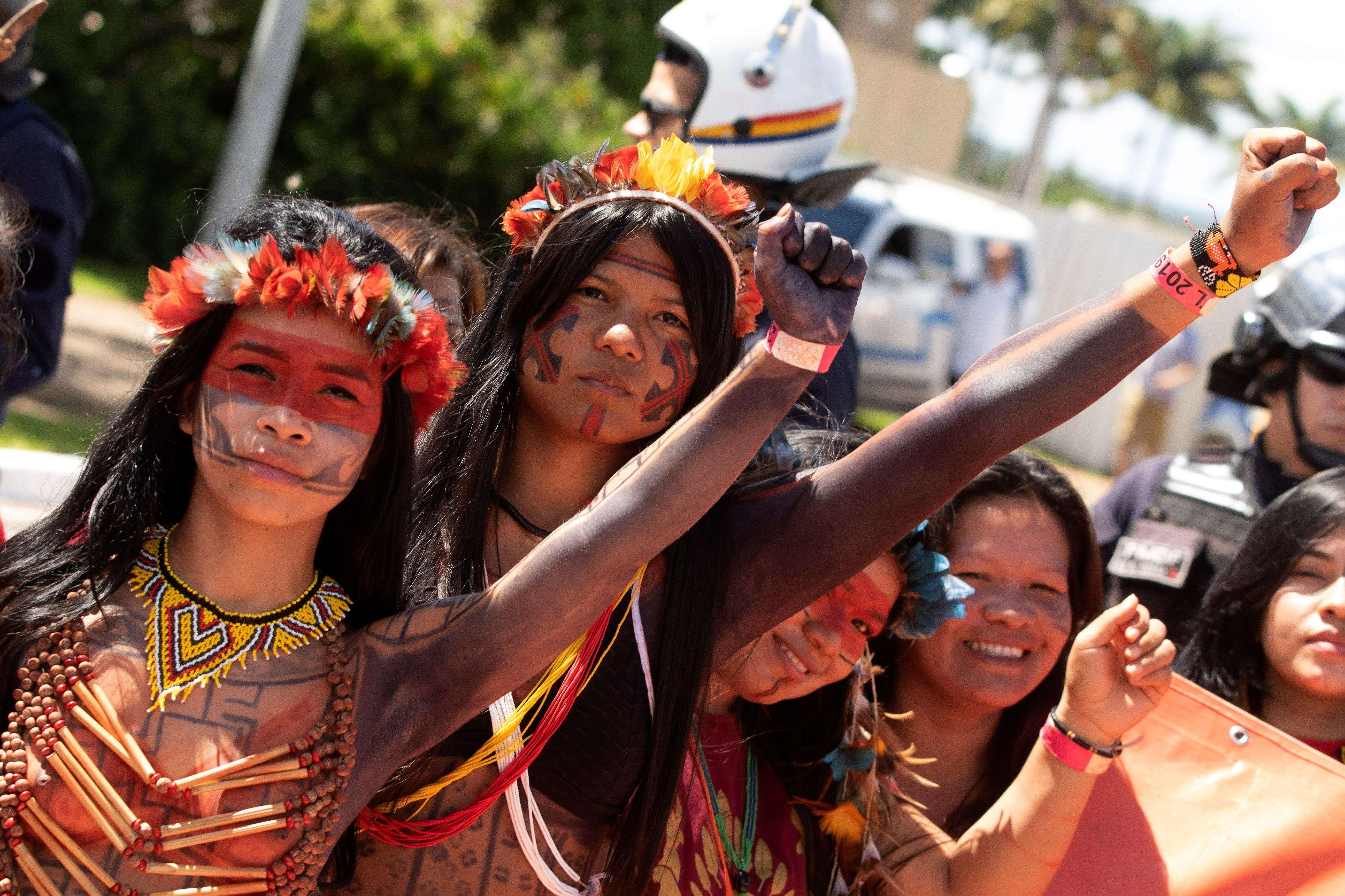 """""""La naturaleza no se negocia"""", declaró Dinamam Tuxá, coordinador de la Articulación de los Pueblos Indígenas de Brasil"""