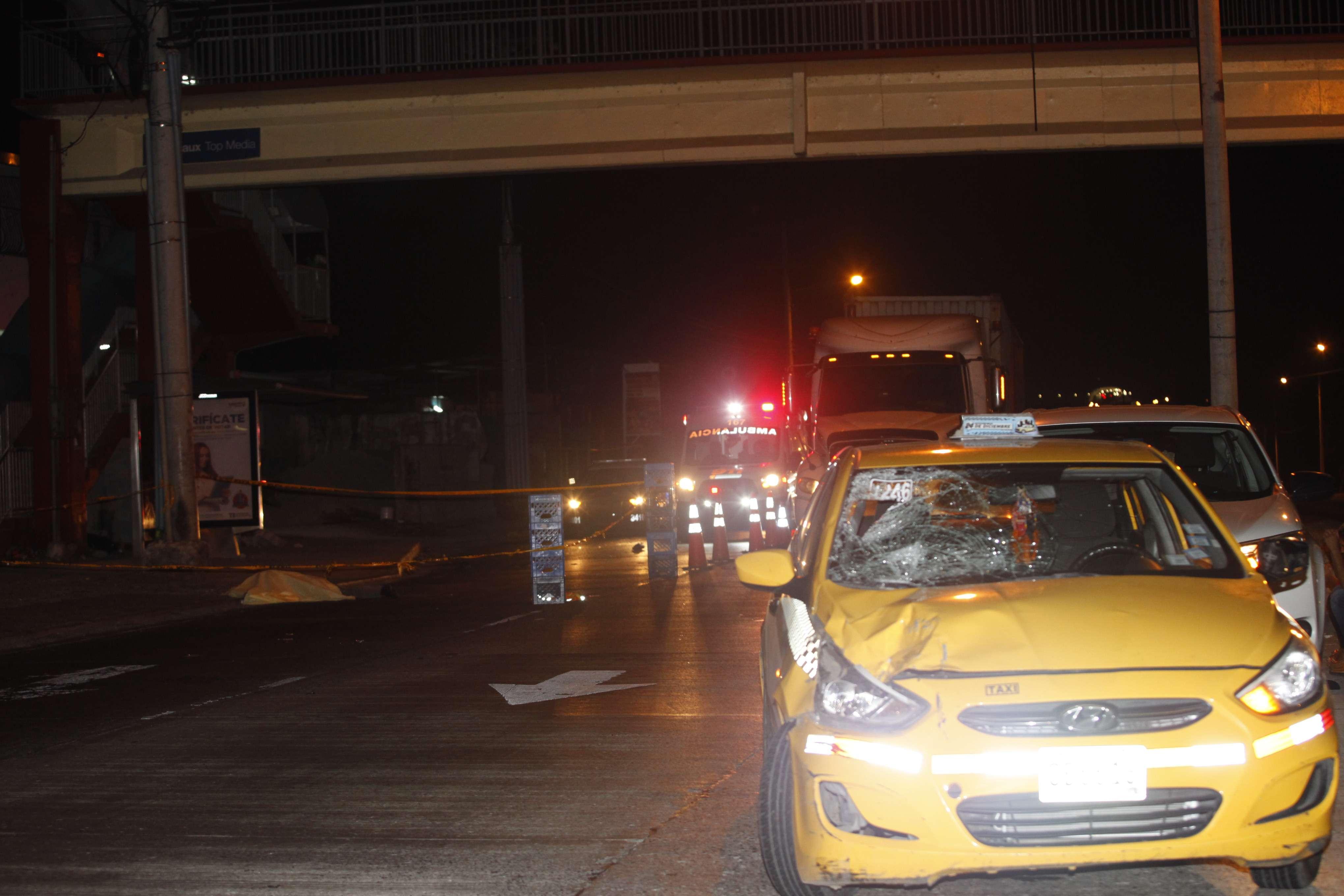 Hombre murió atropellado en Felipillo. Foto/ Alexander Santamaría
