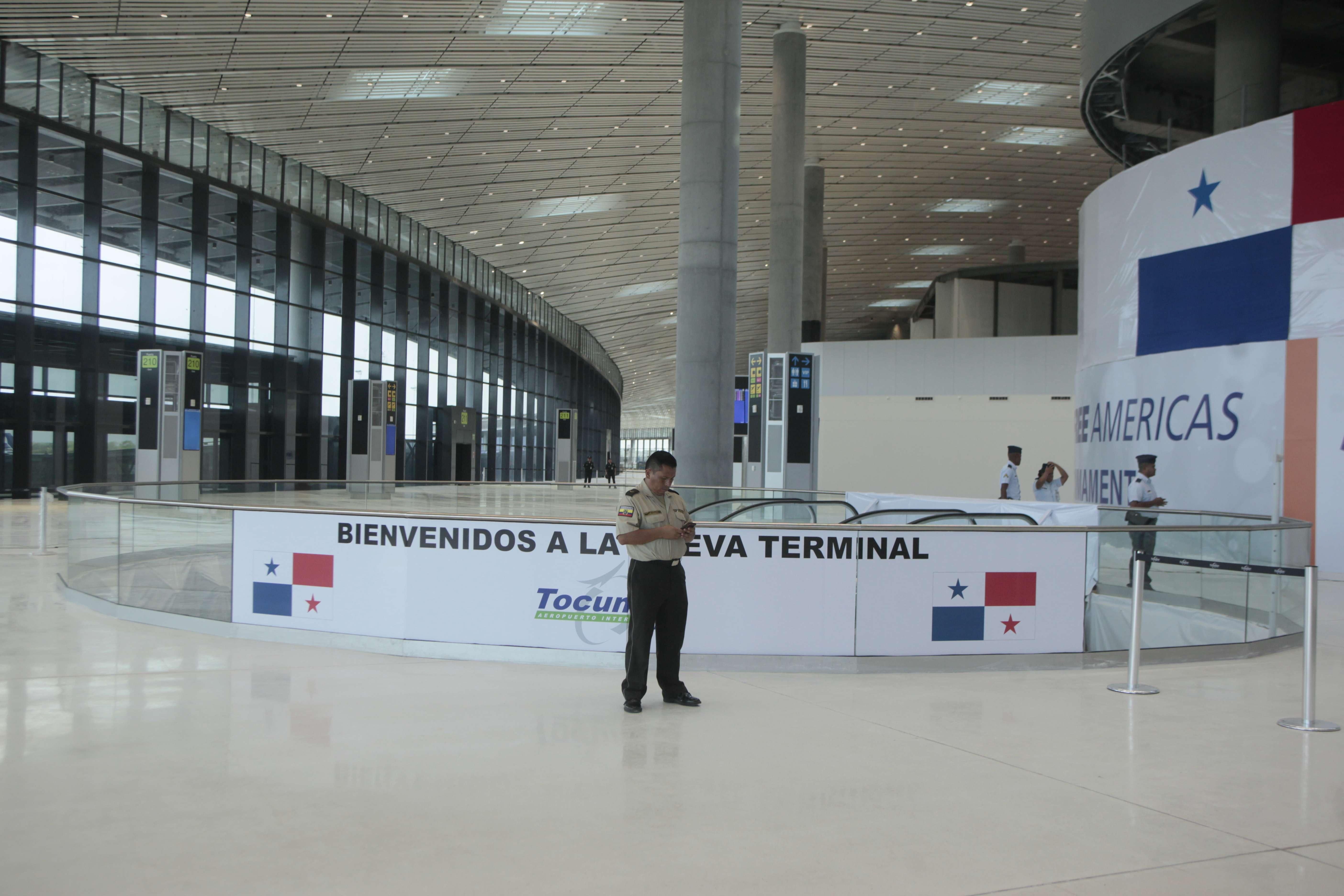 Nueva Terminal 2 del aeropuerto de Tocumen. Foto: Victor Arosemena