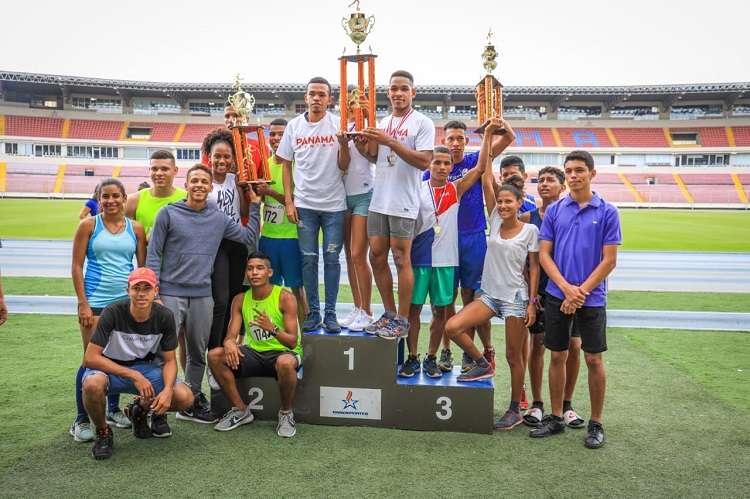 Panamá Centro en la U-20 acaparó los honores con 10 medallas de oro. Foto: Pandeportes