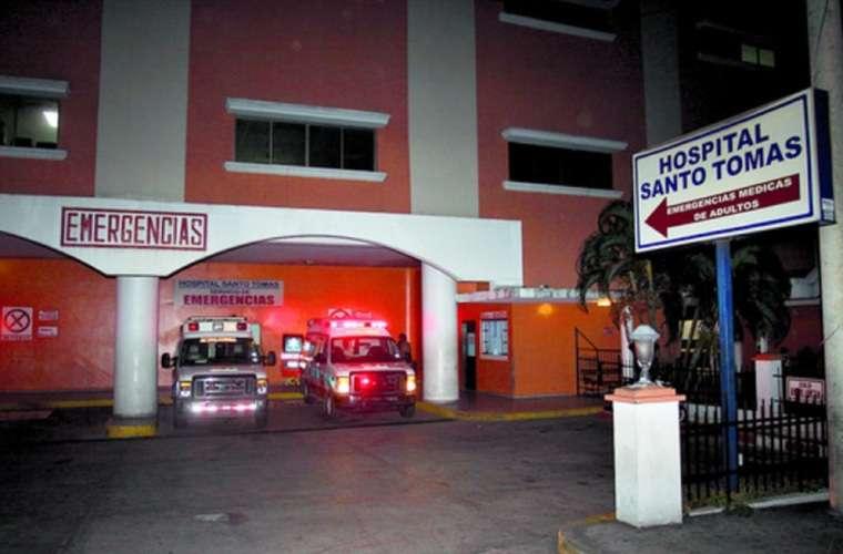 Fue trasladado al Hospital Santo Tomás, pero no sobrevivió. Foto: Ilustrativa