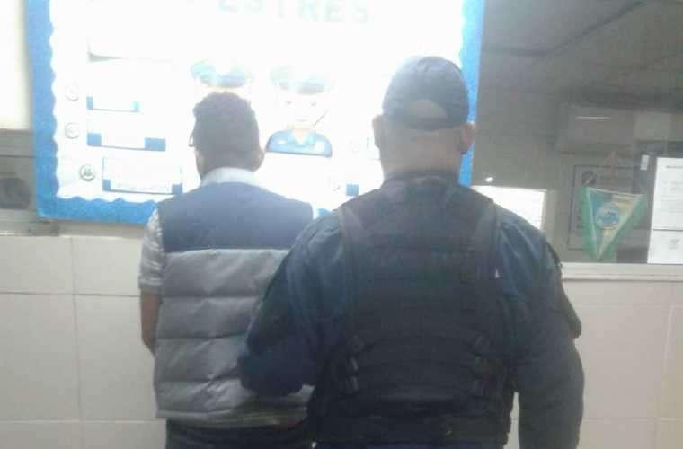 Sujeto de nacionalidad colombiana quien fue aprehendido. Foto: Cortesía