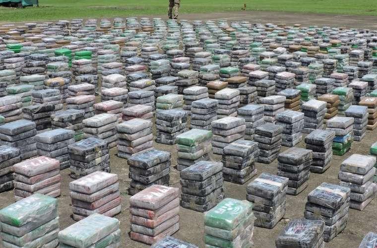La droga venía embalada en paquetes de aproximadamente un kilo, dentro de 160 bultos. Foto: Landro Ortiz