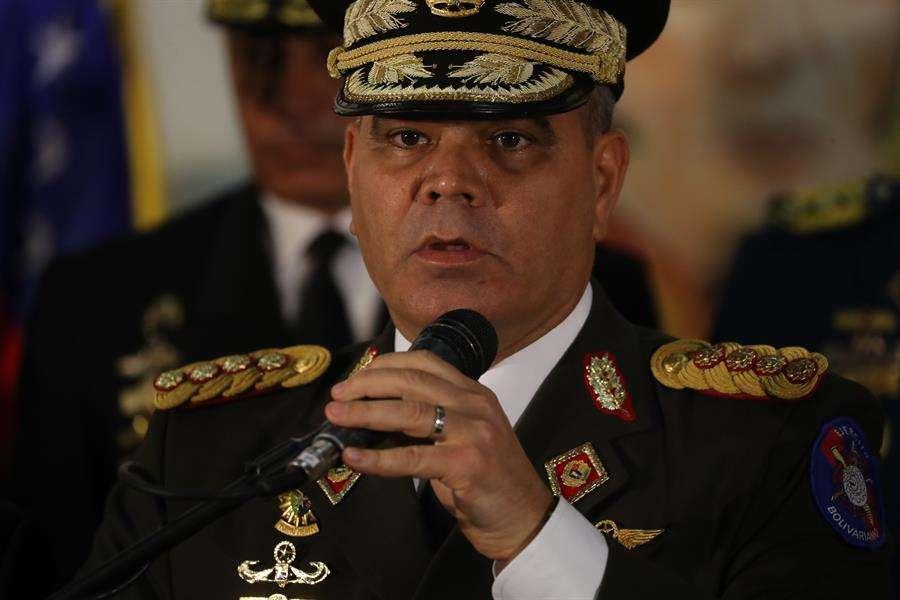 El ministro de Defensa, Vladimir Padrino López. EFE