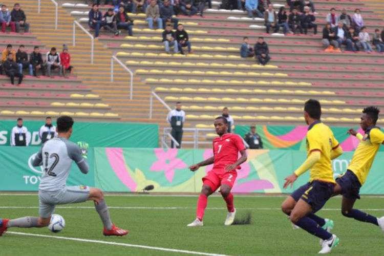 Luis Zúñiga (N.°7) anotó el gol de Panamá. Foto: Fepafut