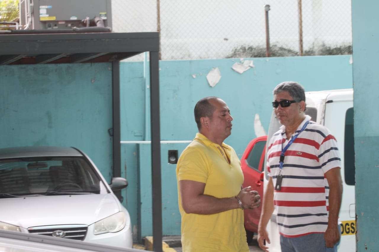 Llegada de Hidadi Santos Saavedra al SPA. Foto/ Edwards Santos