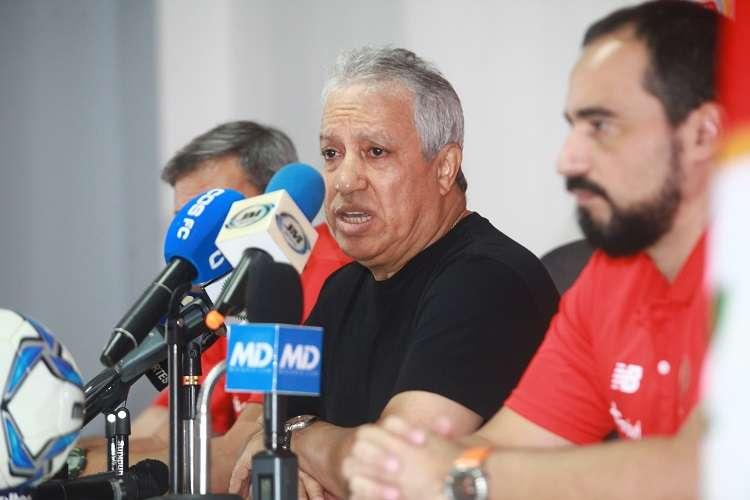 Américo Rubén Gallego, técnico de la selección nacional. Foto: Anayansi Gamez