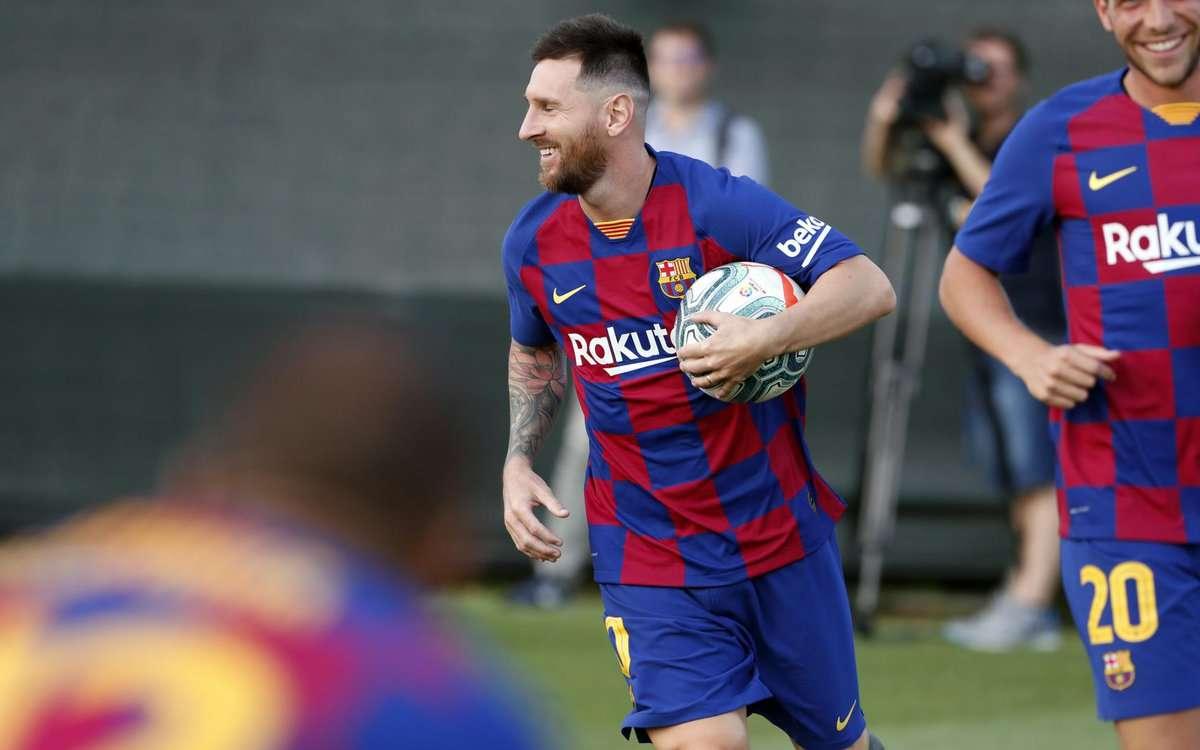 Lionel Messi / Foto Cortesía FCB
