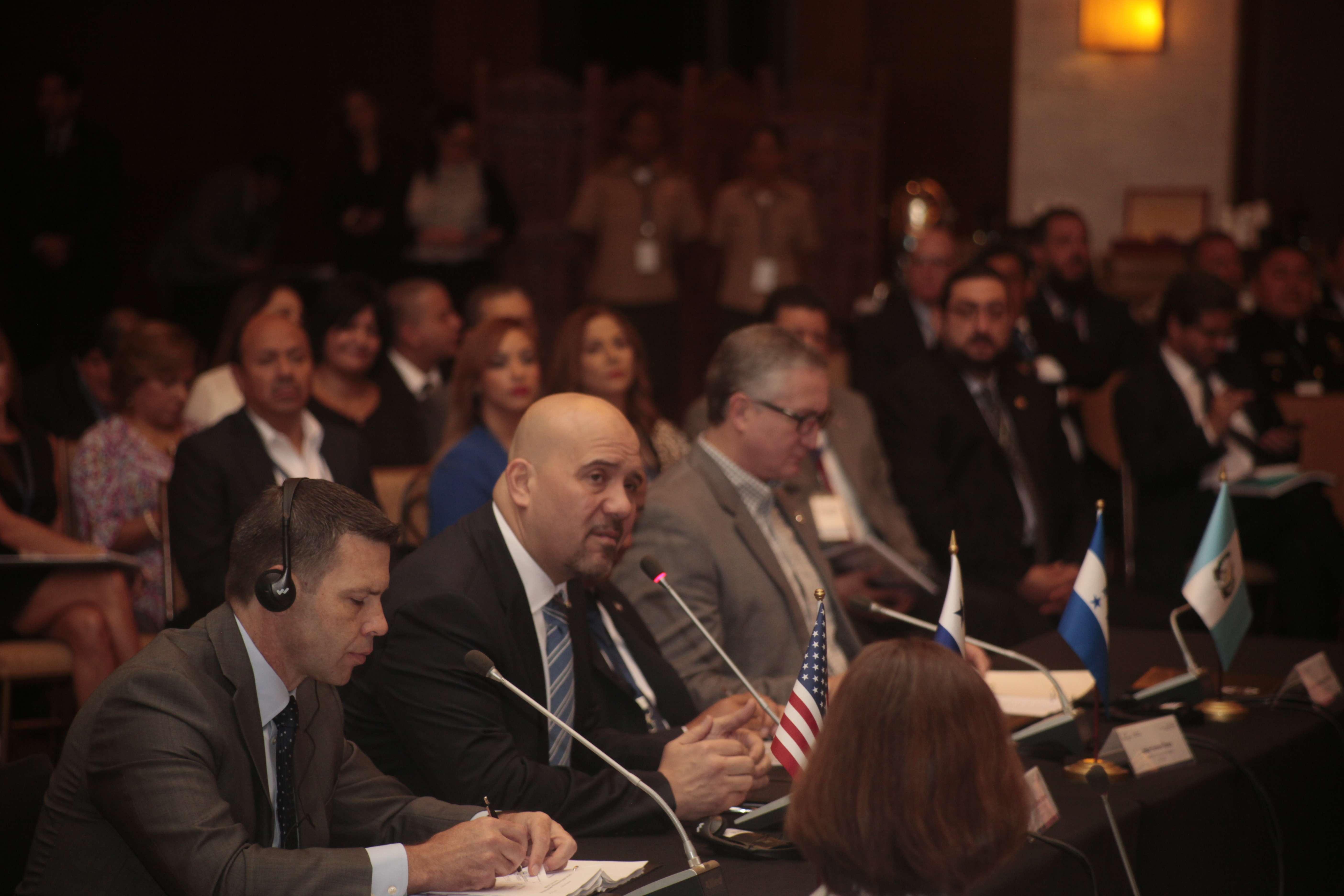 Reunión de ministros de Seguridad de toda Centroamérica. Foto: Víctor Arosemena