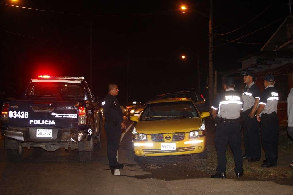 Vista general de la escena del suceso. Foto: Alexander Santamaría