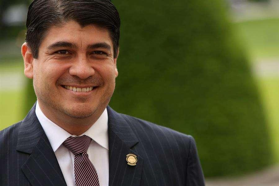 En la imagen el presidente de Costa Rica, Carlos Alvarado. Foto: EFE