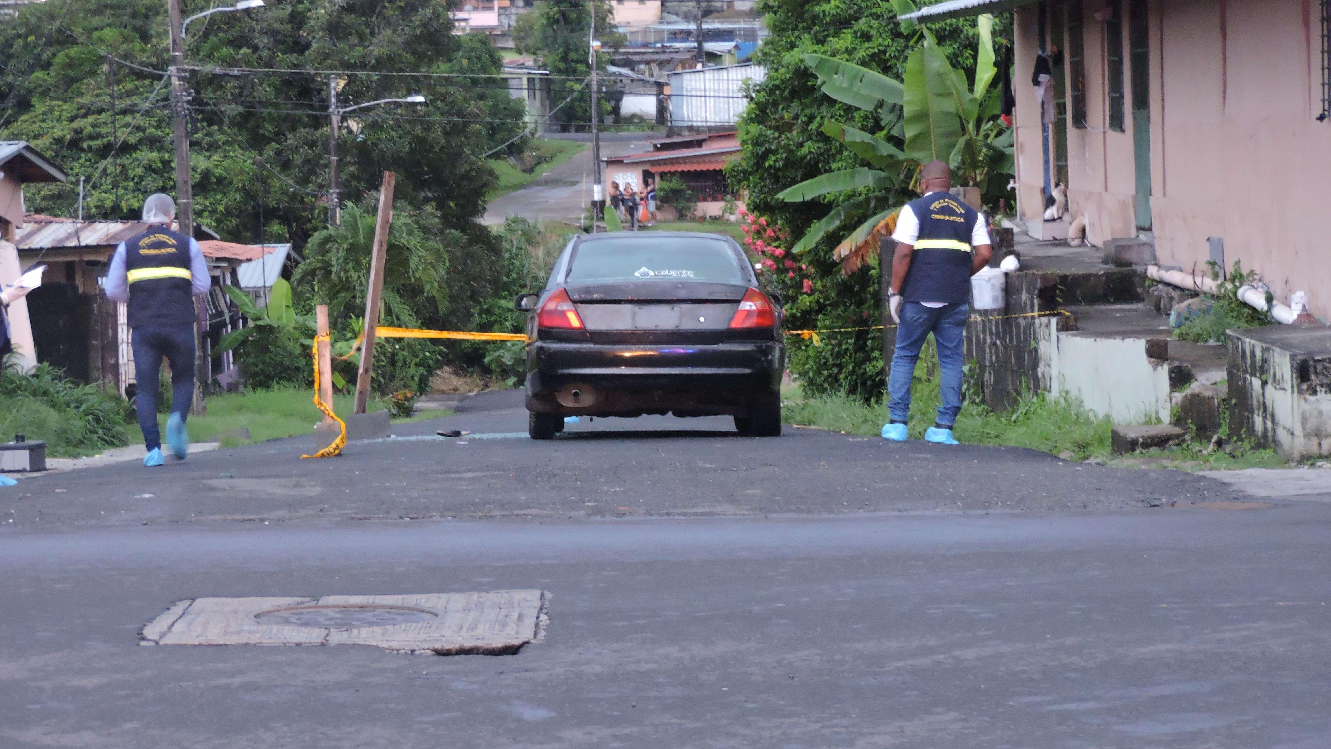 Escena del ataque. Foto/Landro Ortiz