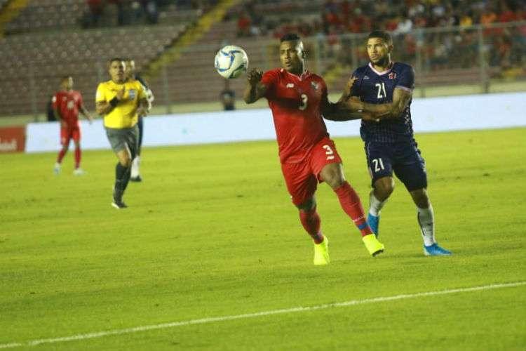 Nahki Wells fue el verdugo de Panamá al anotar los dos goles. Foto: Anayansi Gámez
