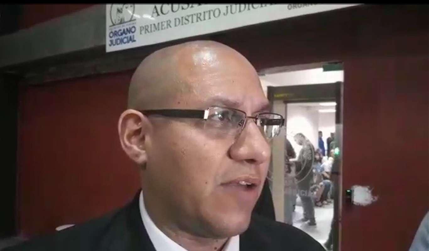 Fiscal Emeldo Márquez.