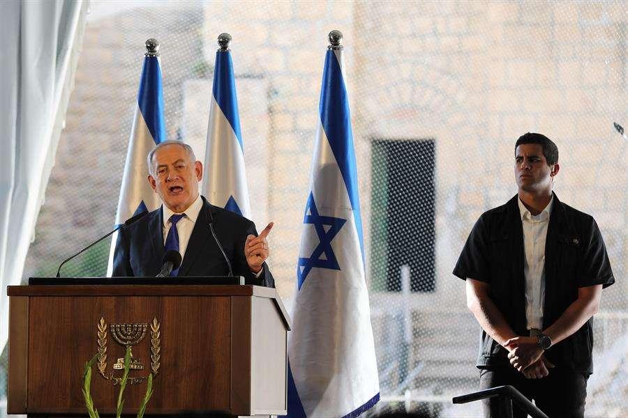 En la imagen Benjamín Netanyahu, el primer ministro israelí. EFE