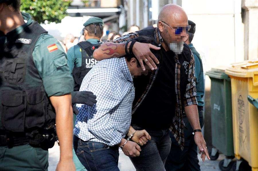 José Luis Abet Lafuente, autor confeso del triple asesinato. EFE