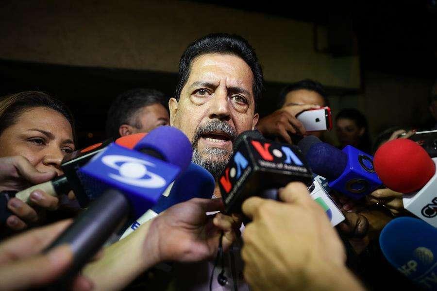 El primer vicepresidente de la Asamblea Nacional (AN, Parlamento) de Venezuela, Édgar Zambrano. EFE