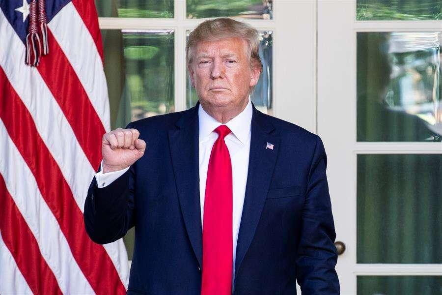 En la imagen, el presidente estadounidense, Donald Trump. EFE