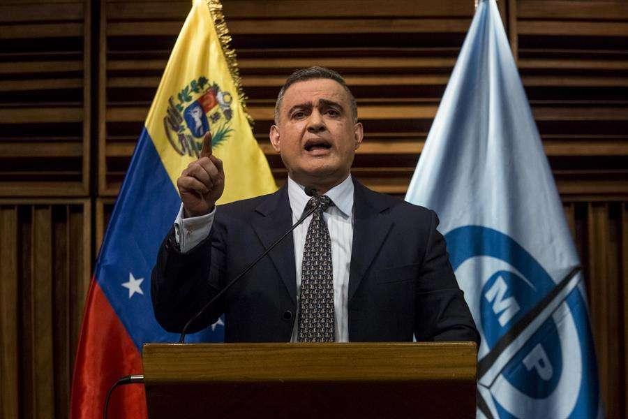 En la imagen, el fiscal general de Venezuela, Tarek Saab. EFE