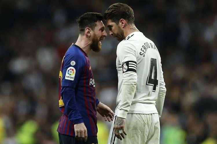 El próximo miércoles se decidirá si finalmente se juega, se suspende o se permuta el orden del duelo y se traslada el primer envite al estadio Santiago Bernabéu. Foto:AP