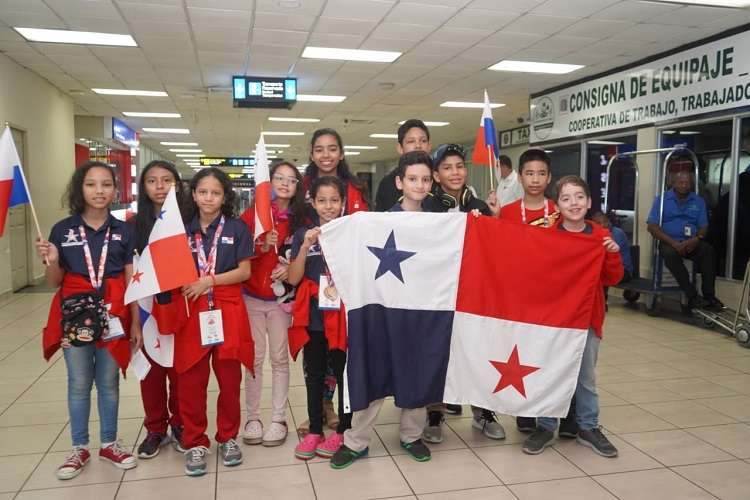 La representación panameña estuvo conformada por 131 atletas. Foto: Pandeportes