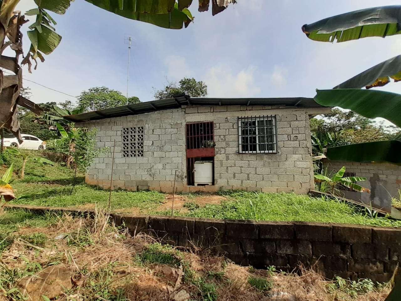Vista externa de la residencia en donde fue ubicado el cadáver. Foto: Jorge Luis Barría