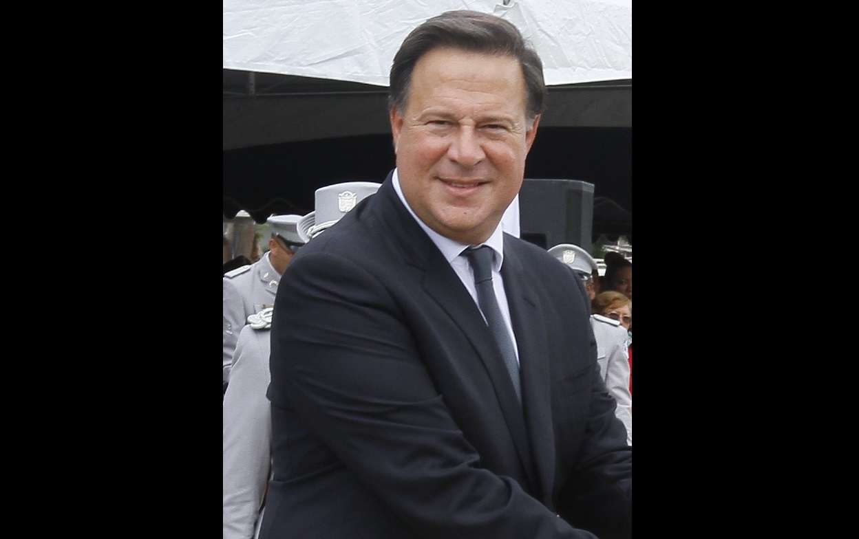 Expresidente Juan Carlos Varela. Foto: Archivo