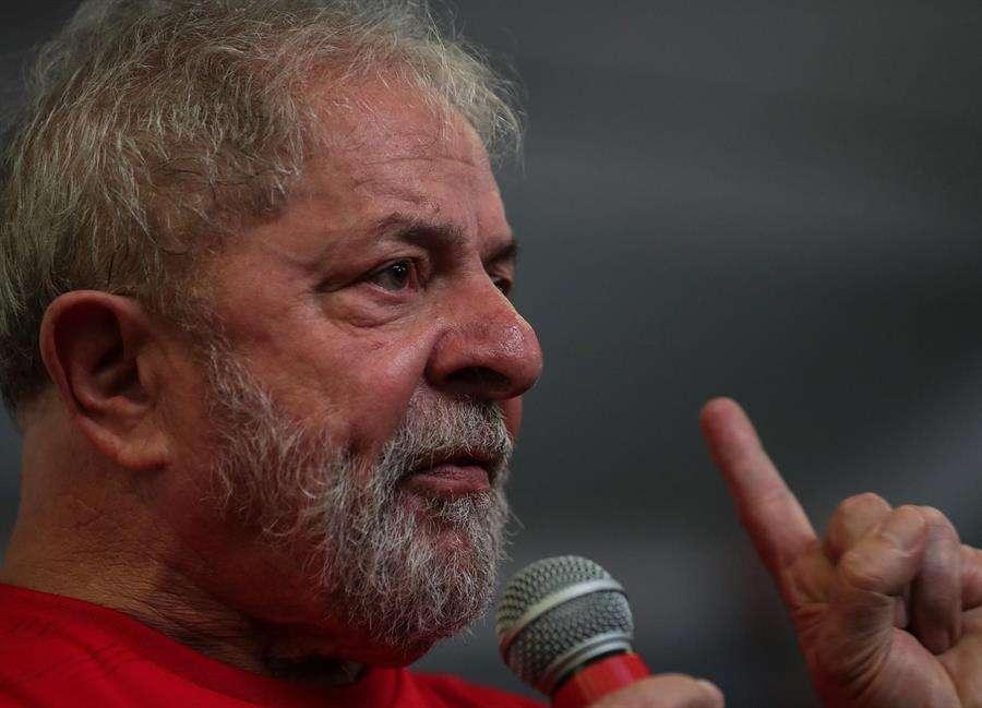 En la imagen un registro del expresidente de Brasil Luiz Inácio Lula da Silva. EFE
